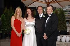 Pictured: Colleen Peddie Michelle Maloney Richard Peddie Tom Peddie