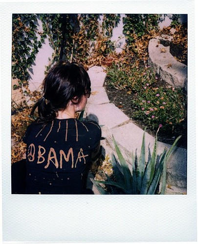 diy bleach pen obama shirt by les créatures de la mer sont vertes.
