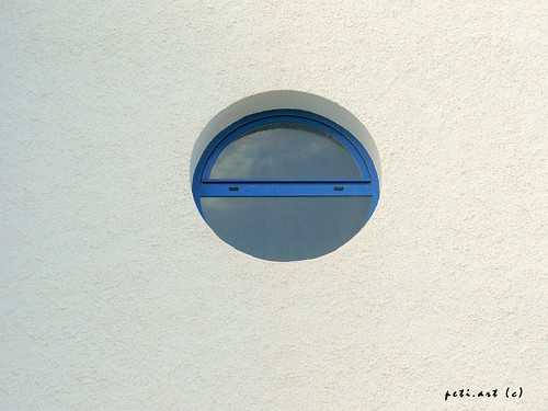 circular window, Altea- Spain 10-2008 by peti.art.