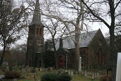 CHURCH - OLD RICHMONDTOWN (kevinh_photos) Tags: nyc building history historic statenisland richmondtown churchcemetery kevinhphotos