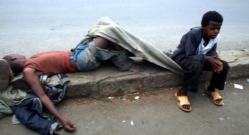 Niños de la calle (1) Addis Abeba