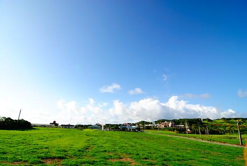 旁邊的大草原