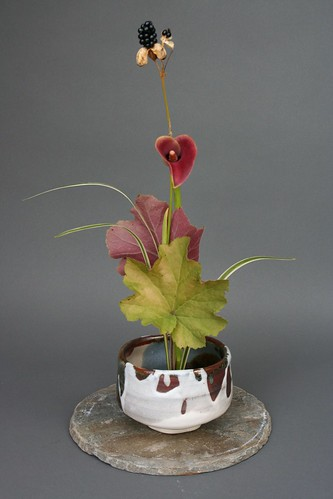Ikebana-Vertical Composition