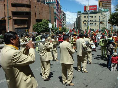 Carnival time in La Paz!