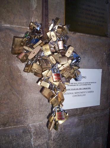 Lucchetti Ponte Vecchio Firenze