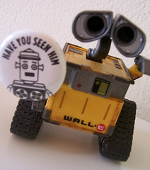 Harvey and WallE (Coco Mault) Tags: harveytherobot harvey haveyouseenhim seantubridy walle