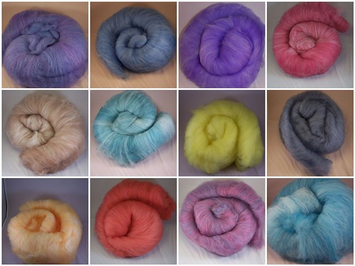 Superwash batts