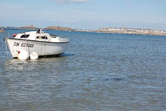 Dinard - St Enogat - Saint-Malo - mer - bateau