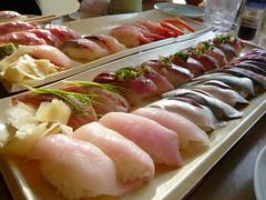 More sushi!