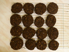 Chocolate Parkin Biscuits