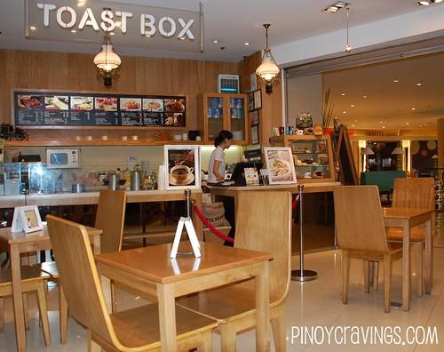 Singaporean Food Chain ToastBox Trinoma