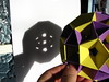 Shadow Of A Little Rhombicosidodecahedron