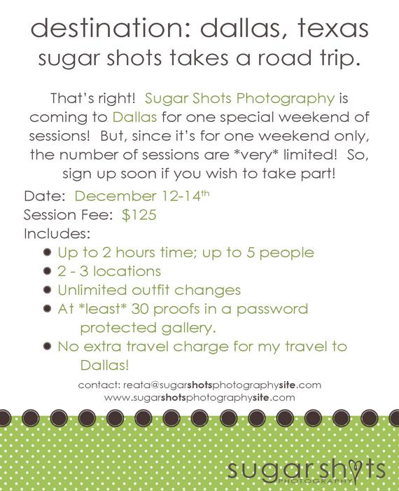 Destination: Dallas!