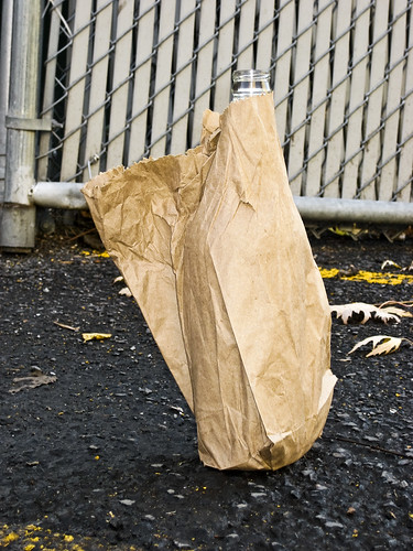 Bottle in Paper Bag, November 9th