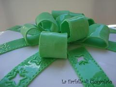 Torta Fiocco verde