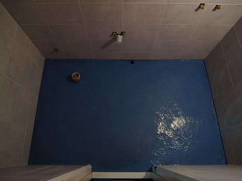 第二層防水工程完工
