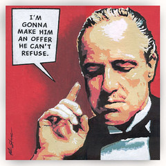 Godfather - Brando by Popartdks, on Flickr