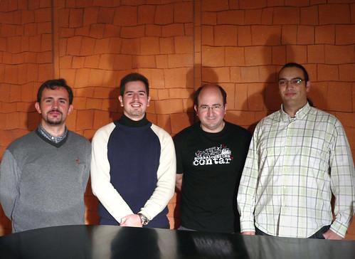 GRABACIÓN DE LA B.S.O - TIEMPO - O.S.T. RECORDING SESSION