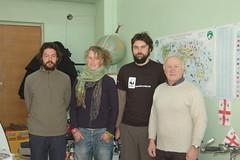 Jumber Lezhava with us (tomsbiketrip.com) Tags: travel winter georgia asia caucasus 2007 neareast westasia