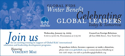 GK Benefit Save the Date