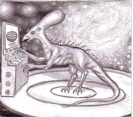dinozaurul inteligent desen