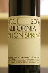 2006 Ridge Lytton Springs Zinfandel