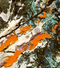 Image of Jackson Pollock painting