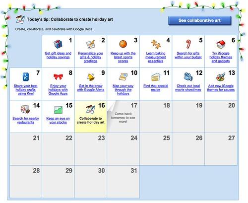 Google Countdown 2009