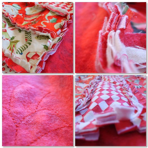 Christmas Rag Quilt 2