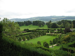 View from Powys Castle, Welshpool, Wales