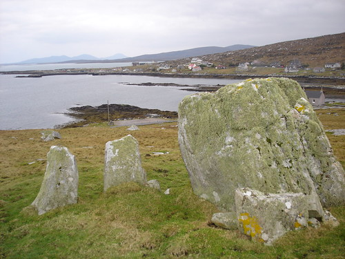 Pagan stone circle and Backhill