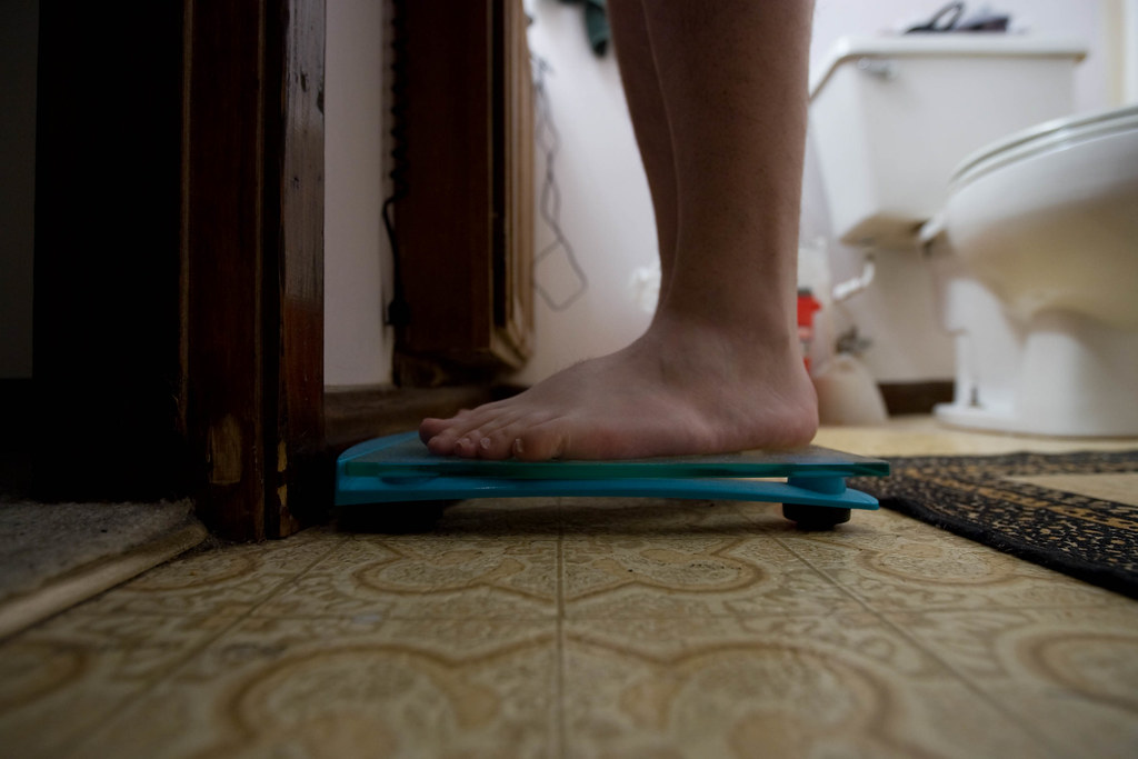 Day 40 (406) - Weighing In