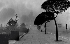 in the mist (takis zervoulakos) Tags: leica old portrait bw italy white cinema black paris color heritage canon landscape italia goa athens mount greece salento relics lecce athos