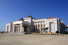 Naypyidaw City Hall by clkr