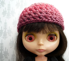 Berry Beautiful Crochet Hat for Blythe