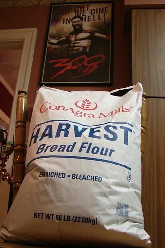 50 lbs of flour
