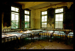 Norwich State Hospital-2 (Sebastian T.) Tags: urban building abandoned trash hospital beds decay ruin patient asylum deserted dilapidated psychiatric mental supershot bej psychatric