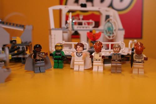 LEGO Star Wars 7754 - Mon Calamari Star Cruiser Minifiguren