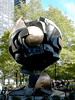 Battery Park, New York City (PJSherris) Tags: world newyorkcity ny monument globe worldtradecenter landmark olympus center historic batterypark national historical trade olympusc4040z c4040z