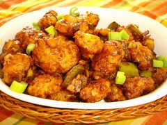 Vegetable Manchurian - Dry