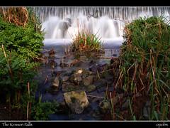 The Kenson Falls (opobs) Tags: green wet water grass southwales wales waterfall spring rocks canon5d wfc 1740mml cokinfilters welshflickrcymru opobs michaeljstokesawpf kensonfalls kensonriver