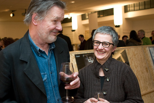 Rolf Mller mit Catherine Avak by Bundscherer