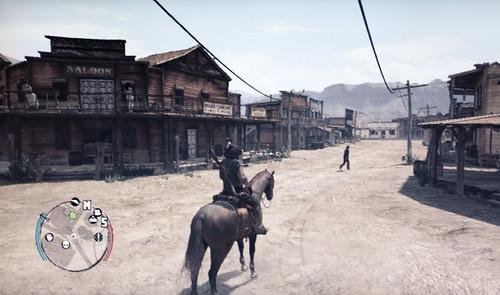 Red Dead Redemption アルマジロ駅前商店街