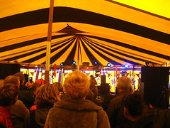 Music in a tent