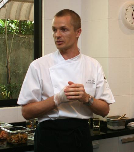 Swedish Chef Jakob Esko, Executive Chef at Capella