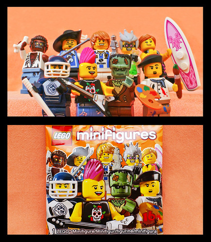 Lego Minifigures Collection Series 4 Cover Shot