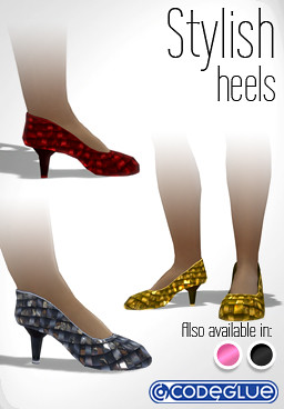 Stylish Heels for Playstation Home