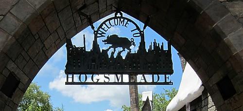 Entering Hogsmeade by Danalynn C
