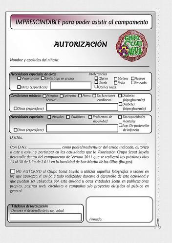 Autorización 2011