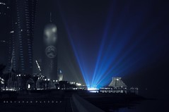BLUE LIGHT (Explored) (puthoOr photOgraphy) Tags: qatar lightroom westbay d90 adobelightroom amazingqatar puthoor gettyimagehq